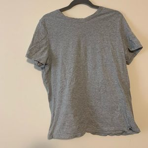 Time & Tru Basic Grey T Shirt